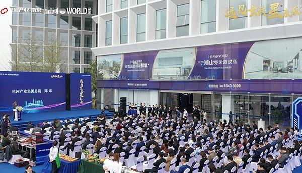 南京星河WORLD开园,开启城市新篇章图片