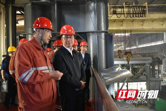 湖南省应急管理厅赴长沙邵阳娄底调研安全生产工作