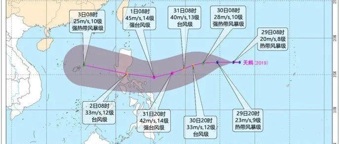 """""""天鹅""""生成、第20号台风待产!佛山周末天气将……"""