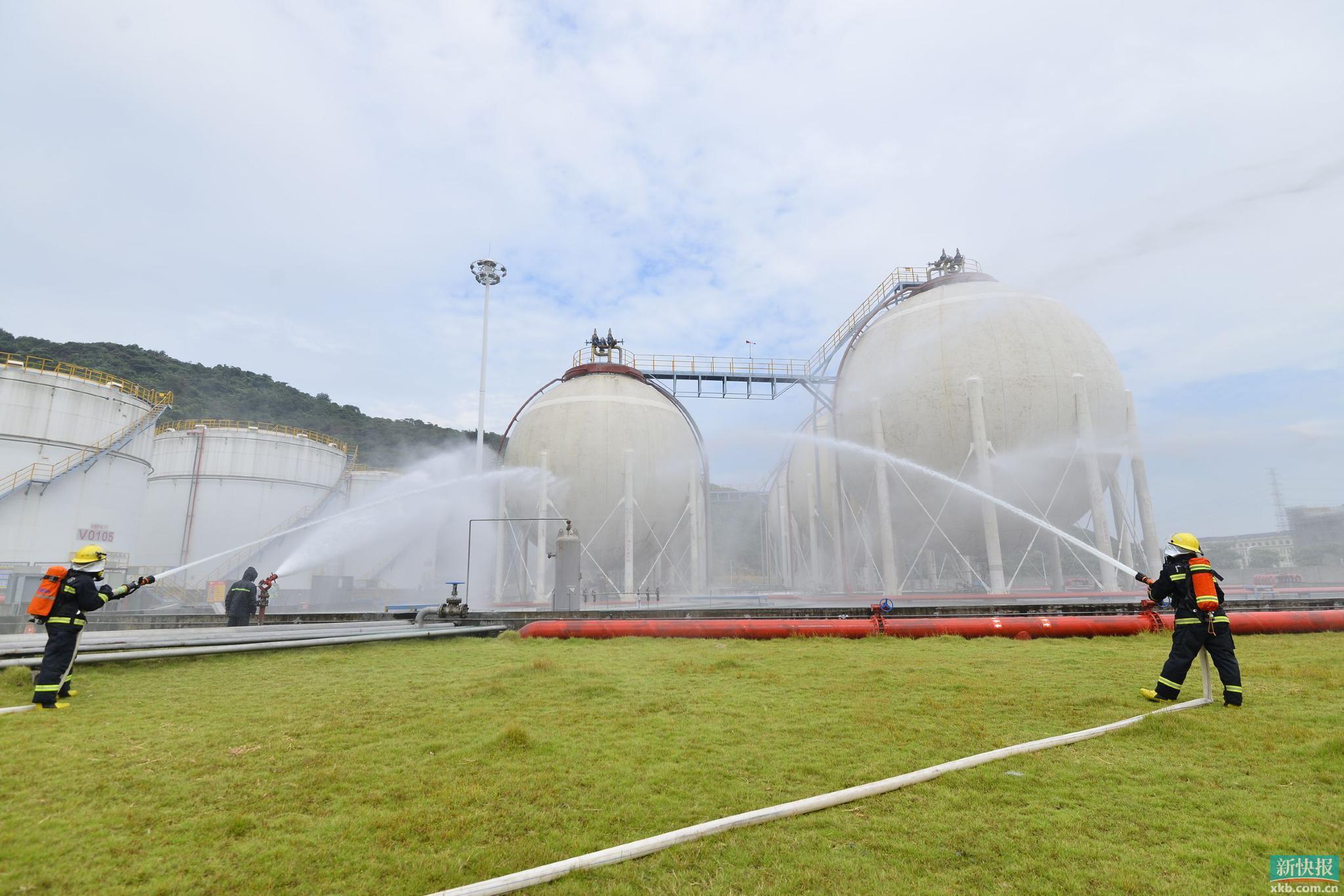 大量液化石油气泄漏?别慌!广州开展模拟特种设备事故应急演练