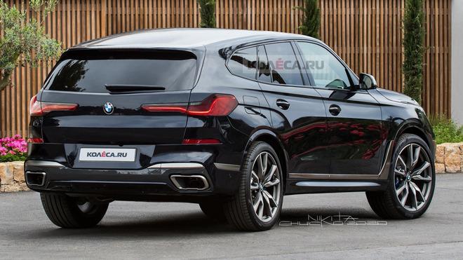 分体式大灯设计 宝马全新大型SUV X8渲染图曝光