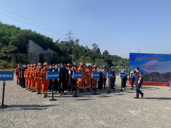 仙湖植物园承办举行2020年罗湖区旅游突发事件应急演练