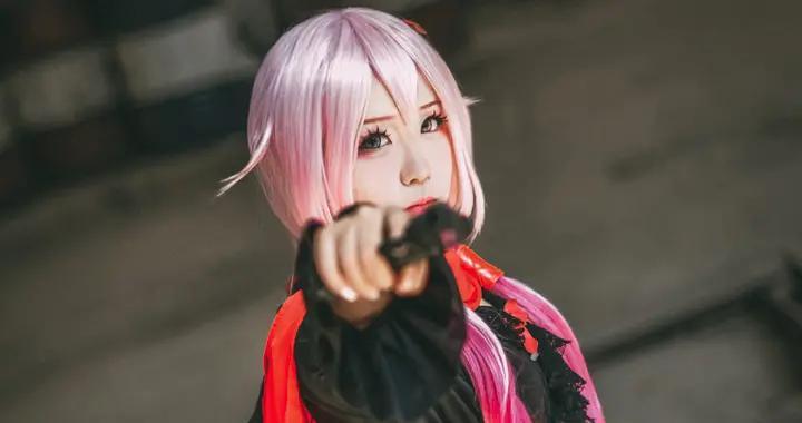 Egoist楪祈cosplay—Tsgc唱片封面