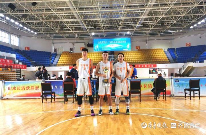 东营区篮球运动协会在比赛中获得佳绩