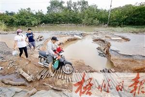 柬埔寨洪灾已致44人亡