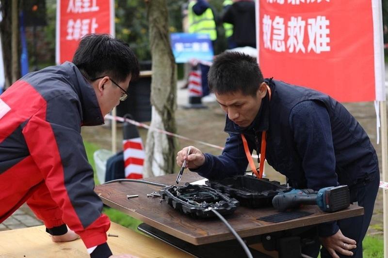 11个省通信技能鉴定中心观摩 四川举办2020省应急通信保障职业技能大赛