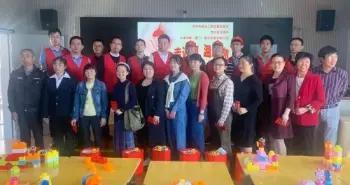 泉州建筑行业志愿者走进特教学校 为师生献爱心
