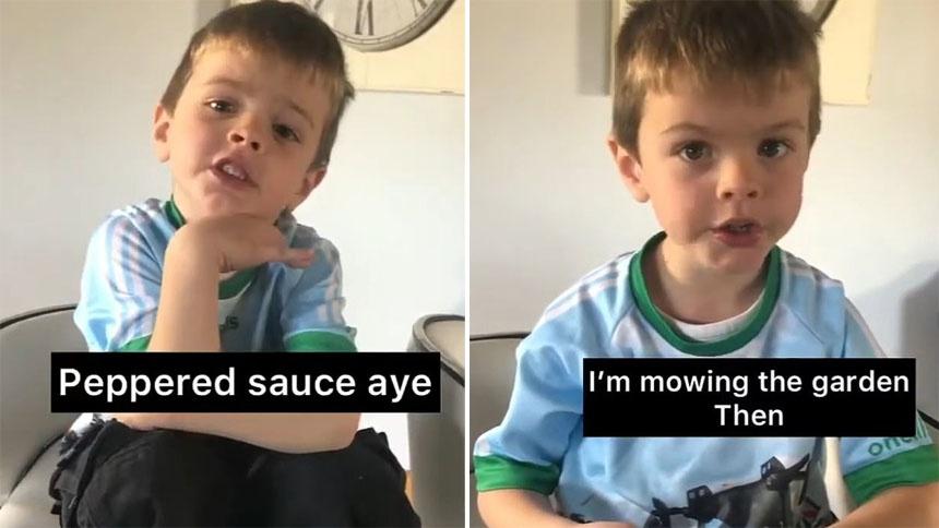 我是个大忙人!爱尔兰4岁男孩向妈妈吐槽自己忙碌的一天