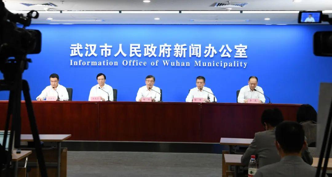武汉市常态化疫情防控消息公布会。记者金振强 摄