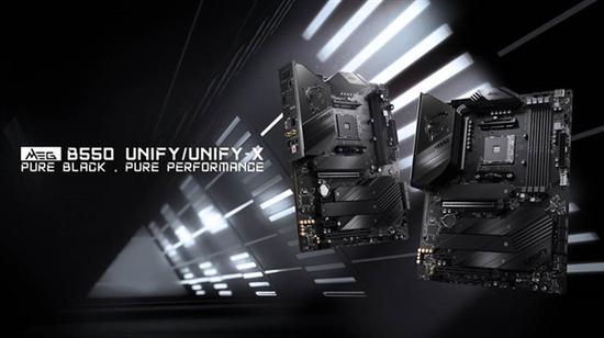 微星发布MEG B550 Unify主板:CPU/内存超频大涨