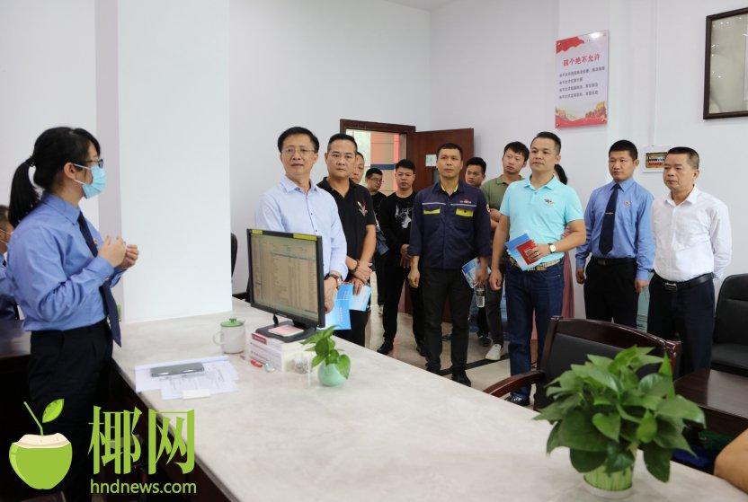澄迈县检察院举办护航民企发展检察开放日活动