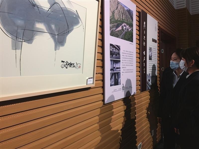 贺兰山岩画暨韩美林岩画艺术作品展开展即日起可去市民大厅免费观展