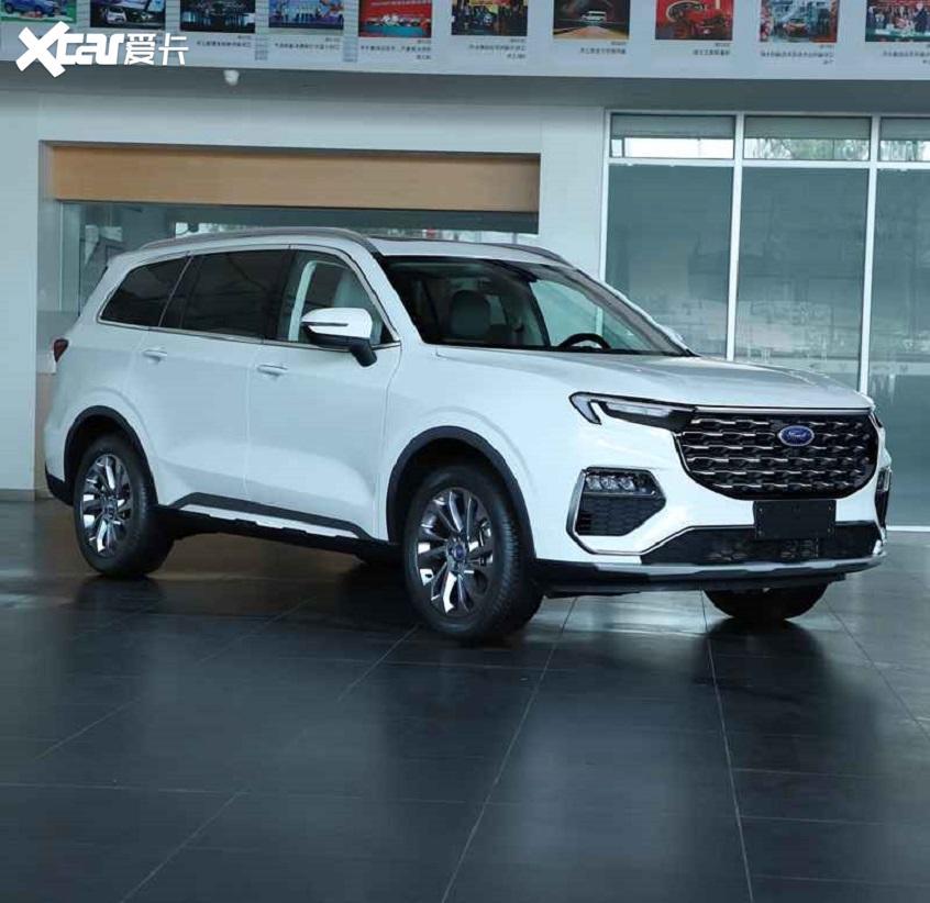 江铃福特EQUATOR于明年上市 中大型SUV