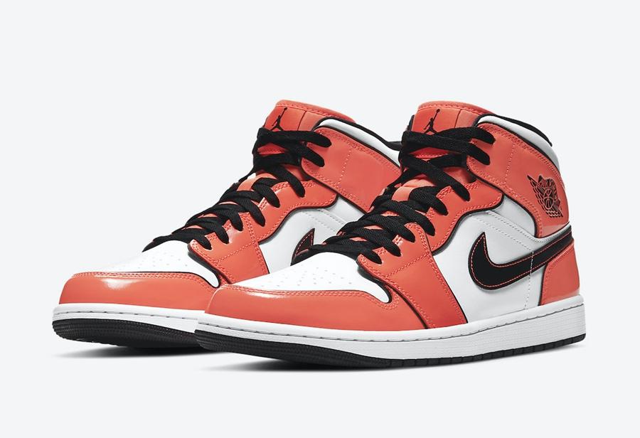 吸睛亮橙色装扮!全新 Air Jordan 1 Mid 官图释出!
