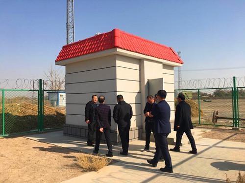 新疆地震局组织国家地震烈度速报与预警工程项目-新疆子项基准站设备安装调试现场培训