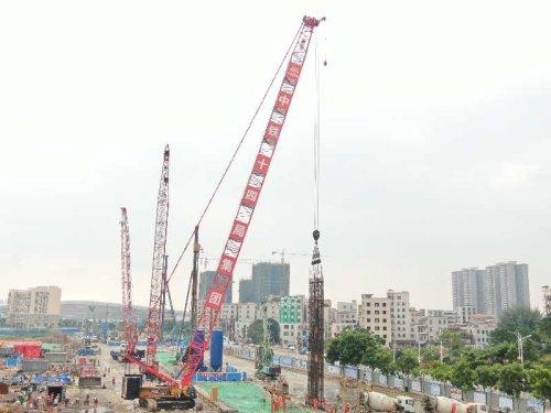 广湛铁路控制性工程取得节点胜利