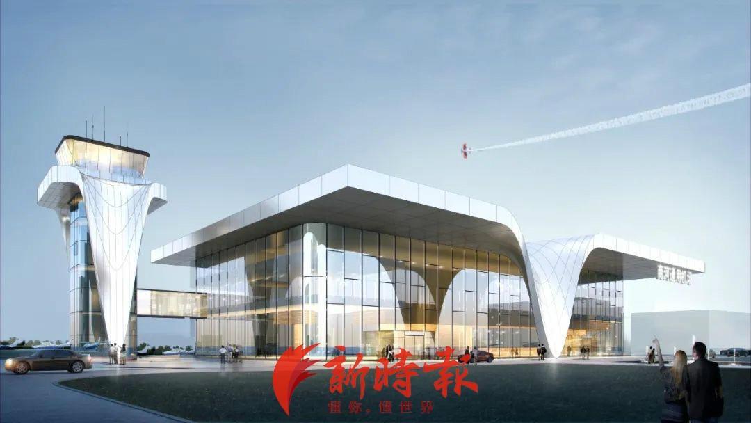 济南商河通用机场建设最新进展:预计11月铺设混凝土路面