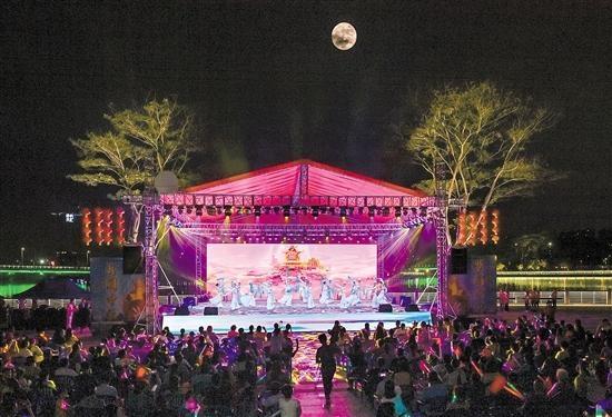 蓬江区举办中秋国庆晚会 中国的中秋节梦