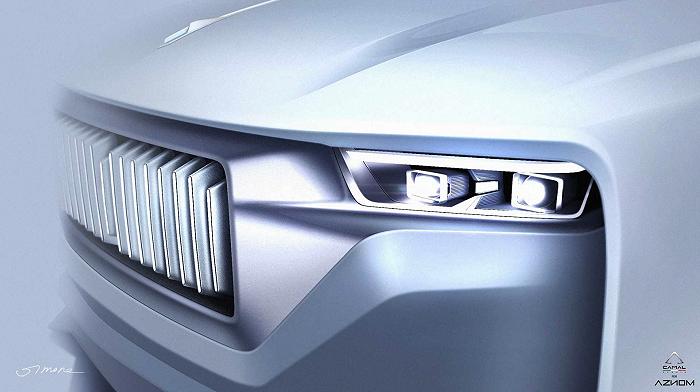 """又一家造车公司来了 并创造出全球首款全地形""""超豪华轿车"""""""