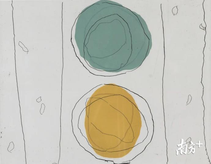 这些画你能看懂几幅?深圳首届抽象艺术展在罗湖展出
