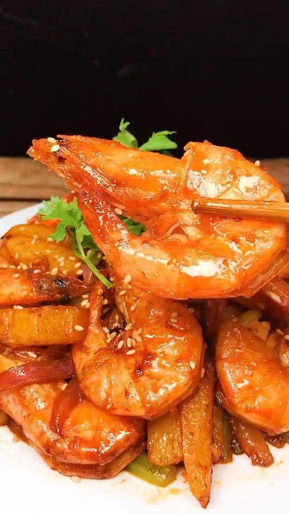 干锅大虾做法