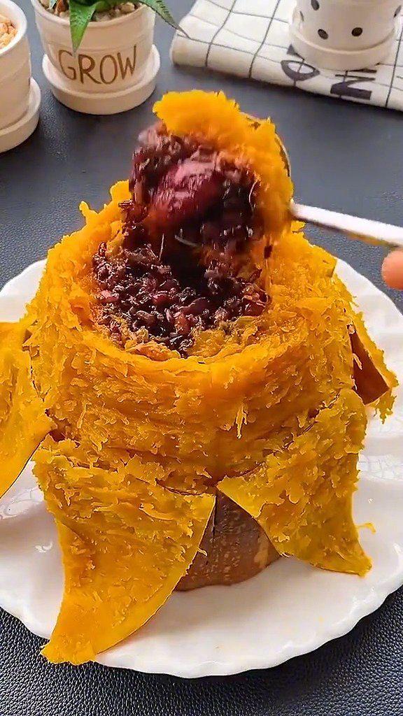教你们做一道好吃的南瓜做法,味道超级棒!