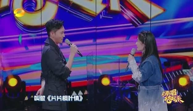 谢娜直接讲上次合作粤语歌就是假唱的……