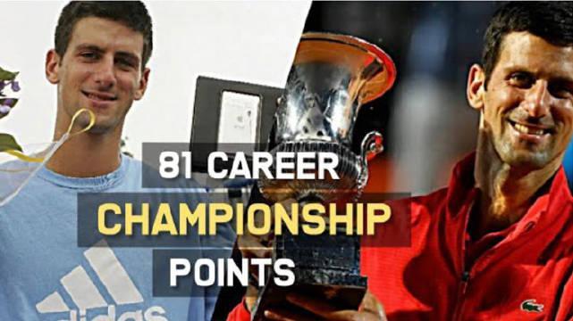 转发评论:德约科维奇目前为止职业生涯的81个冠军……