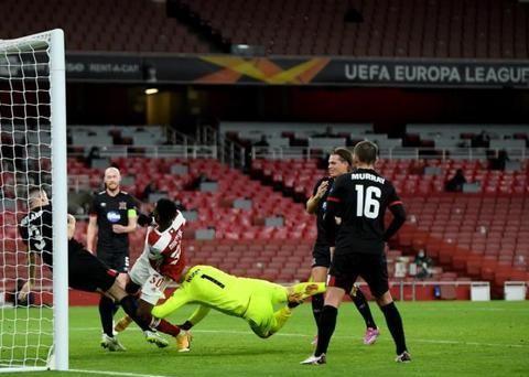 3-0,2分钟两球!阿森纳豪取欧联杯两连胜,继续领跑积分榜!