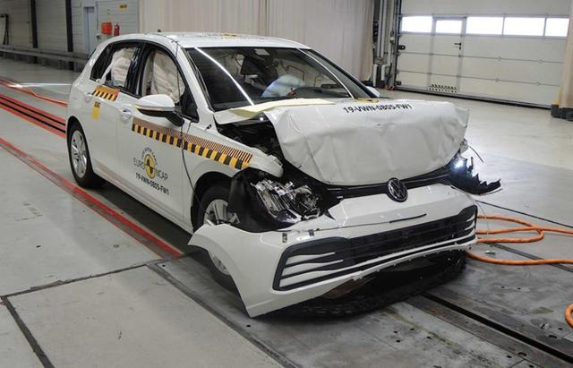 安全有保障,大众高尔夫、ID.3通过欧洲NCAP安全碰撞测试获5星
