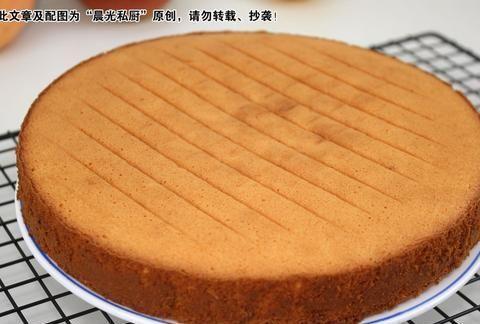 秋天的味道:香橙海绵蛋糕,戚风不塌陷、开裂的不传之秘大公开!