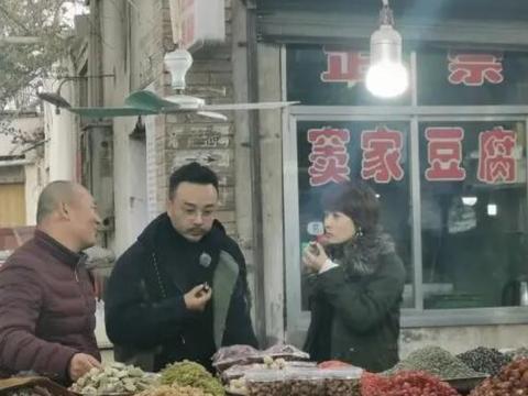 汪涵马伊琍录制新综艺 街头吃路边摊超接地气