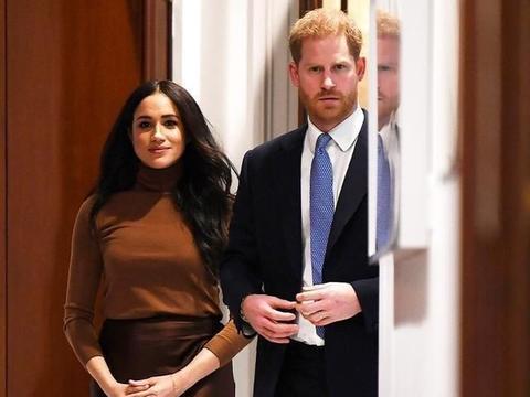 """梅根王妃完美结束2020第一次皇家之旅,立即触发""""梅根效应"""""""