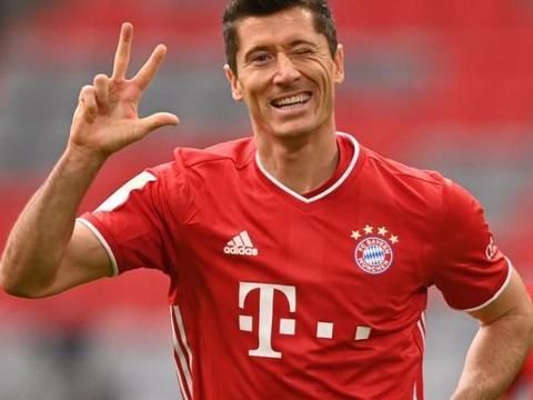 10-3,10-1!32岁拜仁巨星霸气登顶,C罗仅第5,梅西没上榜