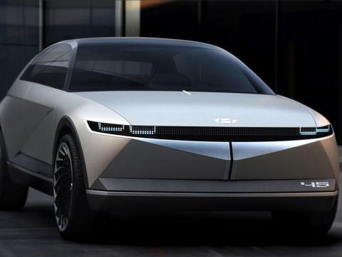 未来对标BBA,现代纯电动子品牌Ioniq发布新车渲染图