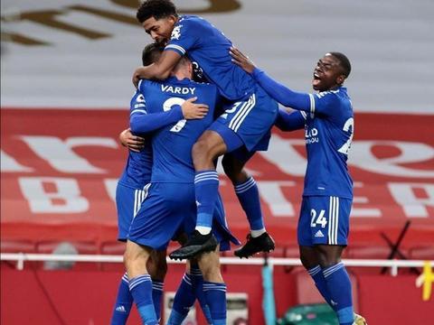2-1!瓦尔迪连场破门,为蓝狐7项赛事取得进球,下轮客战利兹联