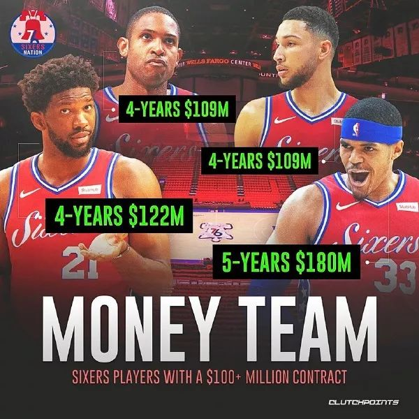 NBA准备地震!4巨头全部摆上货架,勇士5换2交易方案出炉
