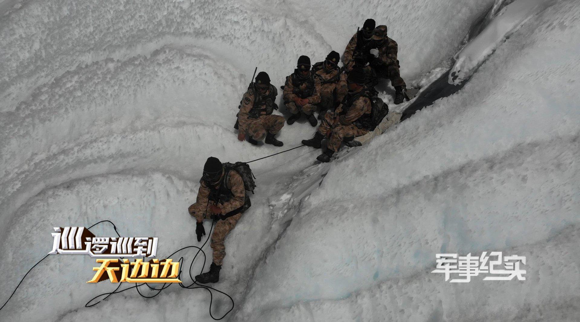 """脚踩冰凌,踏雪前进!看""""00后""""新兵如何征服雪域高原!"""