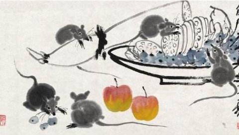齐白石的老鼠画作,后爪少画一个脚趾头,反倒卖出1092万