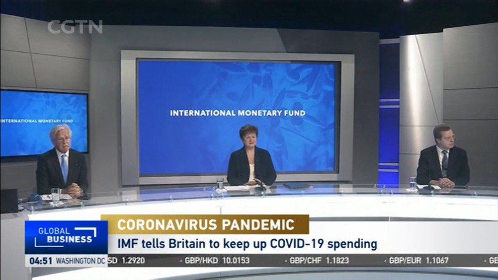 国际货币基金组织:英国政府应加大刺激支出力度来应对疫情影响