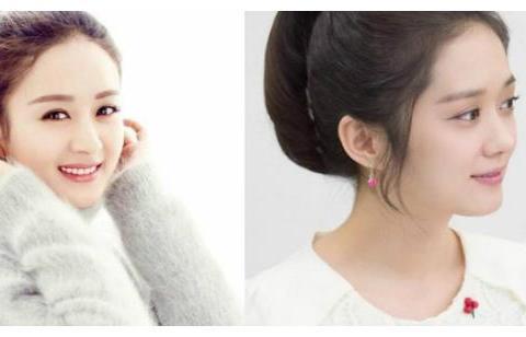 娱乐圈最像的女明星:赵丽颖李沁上榜,最后一对确定不是双胞胎?