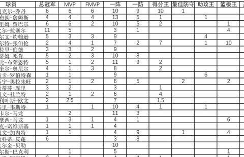 NBA历史排名的依据:詹姆斯为何高居第二,韦德却进不去前二十?