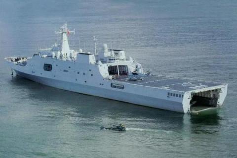 顺应时代潮流,新一代076两栖舰,配备电磁弹射、搭载无人攻击机