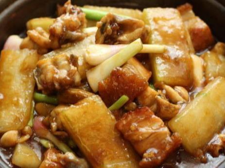 家常美食,冬瓜焖肉,豉椒炒鳝鱼,腊肠豆腐,茄子煲