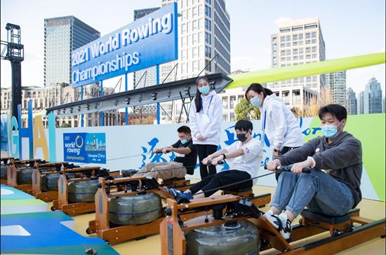 去苏州河畔感受运动魅力 赛艇主题嘉华年邀你来体验