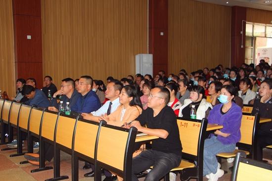 湖南邵阳市隆回县九龙学校初中部举办第二届德育研讨会