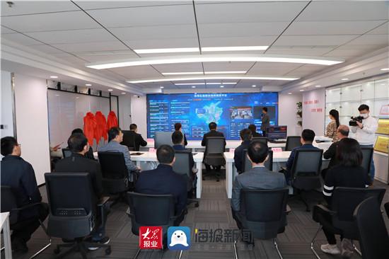 潍坊滨海区党建融媒体中心、融媒体中心指挥中心揭牌投用