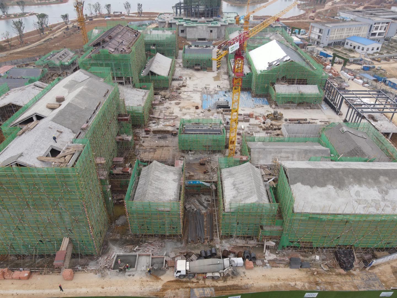 超五星级!成都大运会配套项目东安湖精品酒店主体结构全部完成 预计明年6月竣工