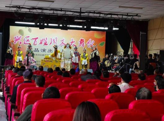 名角儿进村 河北梆子剧团走进京南安定镇图片