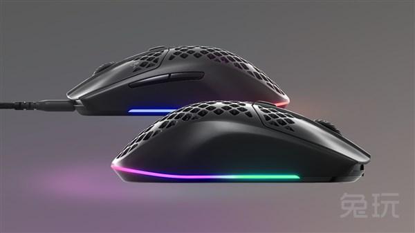 仅重57克!赛睿发布Aerox 3、Aerox 3 Wireless两款超轻量化鼠标